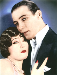 Rudolph Valentino and Gloria Swanson